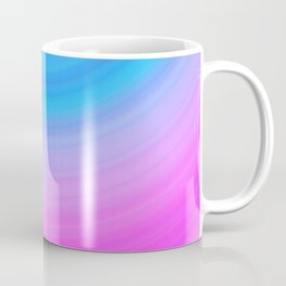 Pink & Blue Circles Coffee Mug