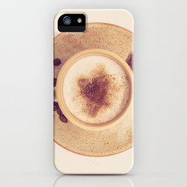 Vintage Coffee Love Photography iPhone Case