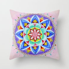 'We Are One' Mandala Throw Pillow