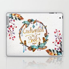 Enchanted by Books Laptop & iPad Skin