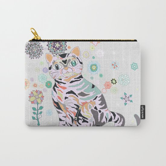 catflowers Carry-All Pouch