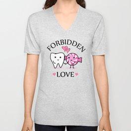 Forbidden Love Unisex V-Neck