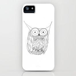 Hoo iPhone Case