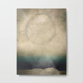 PaperMoon Metal Print