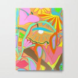 tropical eye  Metal Print