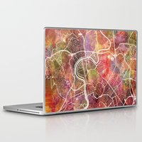 rome Laptop & iPad Skins featuring Rome by MapMapMaps.Watercolors