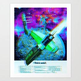 a tale of the moon drifter Art Print