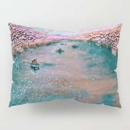 cherry blossom sojourn (detail)_katallie Pillow Sham
