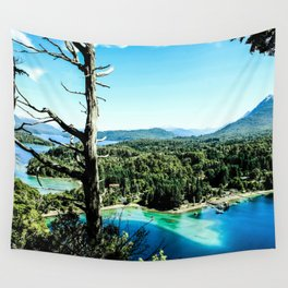 Greeen & Blue Wall Tapestry