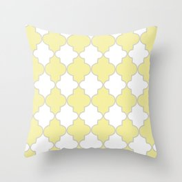 Moroccan Trellis Throw Pillow