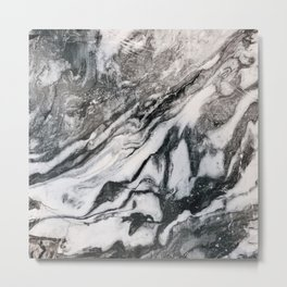MarbleMe Metal Print