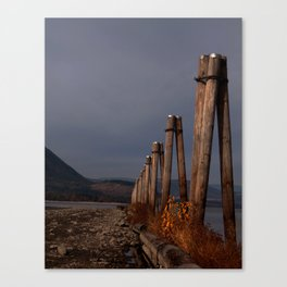 Salmon Arm BC Canvas Print