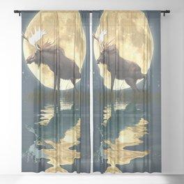Moose & Moon Sheer Curtain