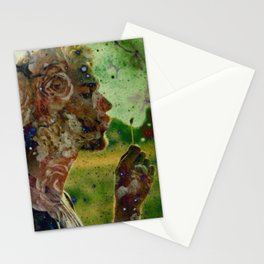 FLOWERS INSIDE ME Stationery Cards