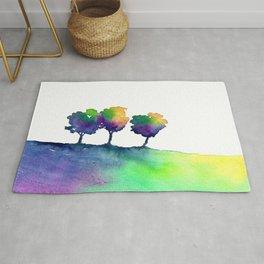 Hue Tree Trio Rug