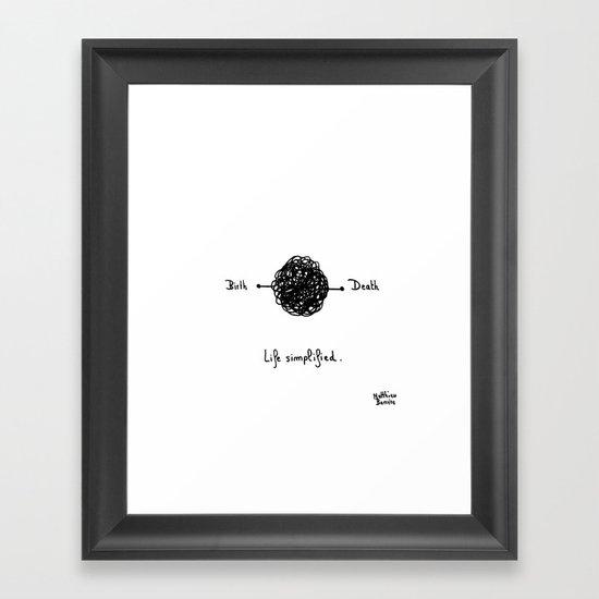 #26 Framed Art Print