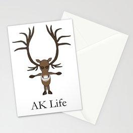 AK Life Caribou Stationery Cards