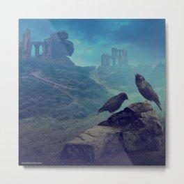 The starlings Metal Print