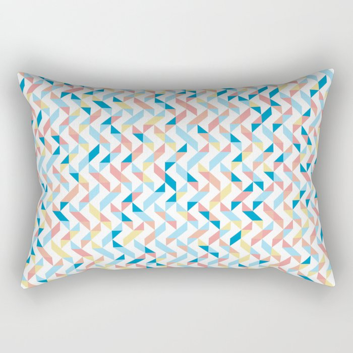 Peaches by the Sea Rectangular Pillow