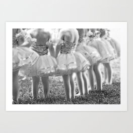 Little Ballerina, Photograph, Black And White, Ballet Decor, Ballet Photography, Ballerina Art,  Art Print