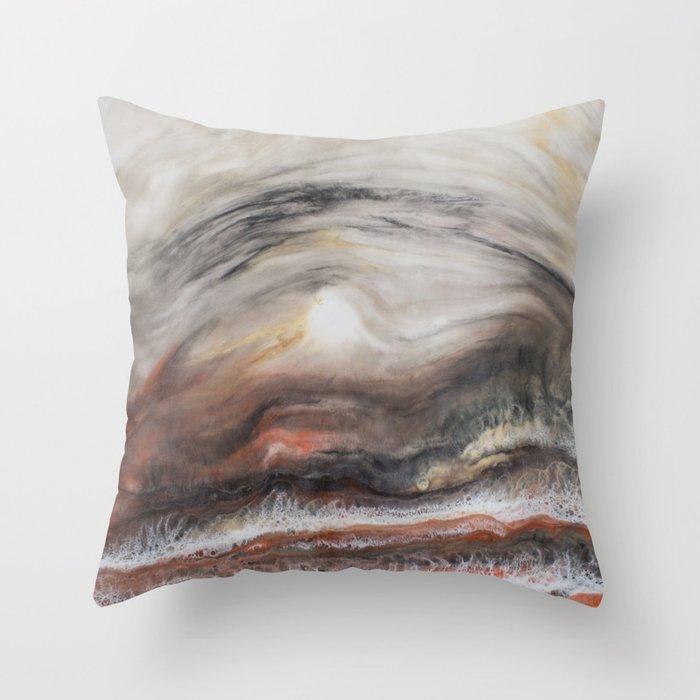 Wildfires Throw Pillow