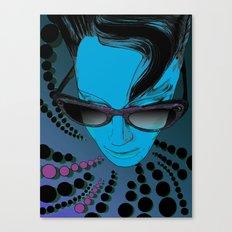 Wanda Blue Aqua Canvas Print