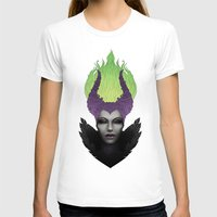 maleficent T-shirts featuring Maleficent by clayscence