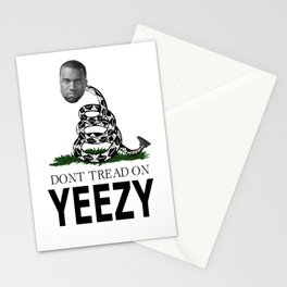 Don't tread on Ye West Stationery Cards