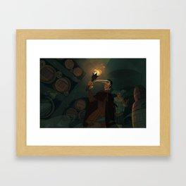 The Cask of Amontillado Framed Art Print