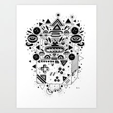 Costok 1 Art Print