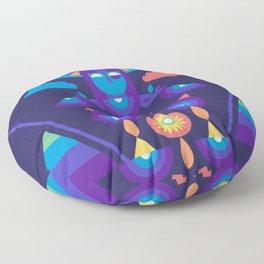 Rainbow Warrior Floor Pillow