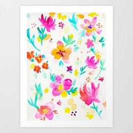 A Little Tropical Art Print