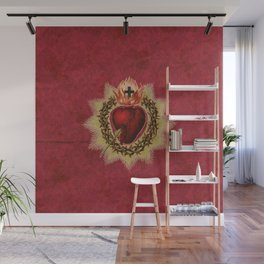 Sacred Heart RED Wall Mural