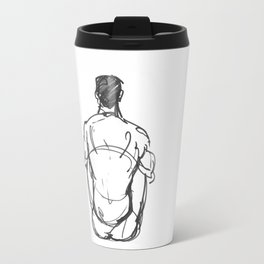 Thinking Lines Travel Mug
