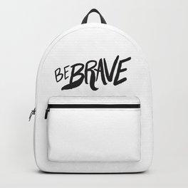 Be Brave Lettering Backpack