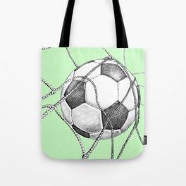 Goal in green Tote Bag