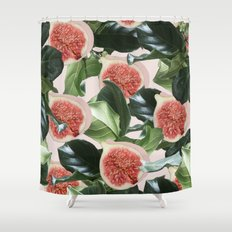 Figs & Leaves #society6 #decor #buyart Shower Curtain