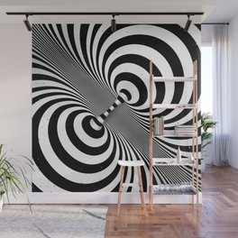 Dualism (black & white) Wall Mural