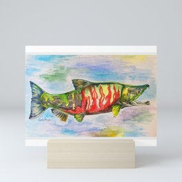 Chum Salmon Mini Art Print