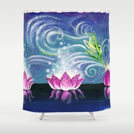 Pixie Dance Shower Curtain