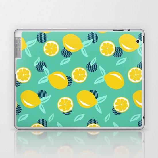 Lemon Dots Society6 Decor Buyart Laptop Ipad Skin By