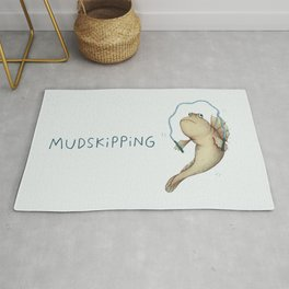Mudskipping Rug