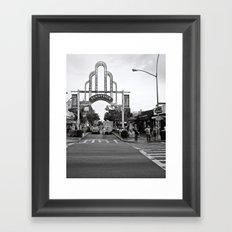 Sunnyside Arch Framed Art Print