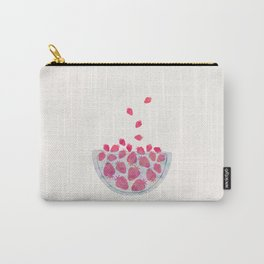 Magic Strawberries in the Bowl Carry-All Pouch