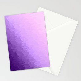 Lavender Texture Ombre Stationery Cards