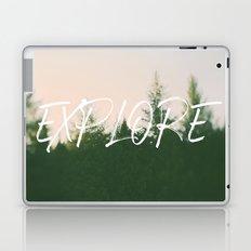 Explore (Pine) Laptop & iPad Skin
