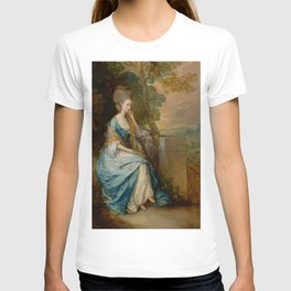 "Thomas Gainsborough ""Portrait of Anne, Countess of Chesterfield"" T-shirt"