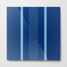 Something Blue Metal Print