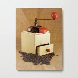 coffee grinder 2 Metal Print
