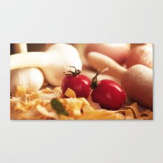 Fresh tomatoes for Italian pasta Canvas Print